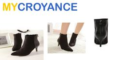 Get Trendy Black Patchwork PU Boots from mycroyance.com Desription – Sole Material:combined material  Heel Height:7.5cm Size:35 36 37 38 39 Size: 35:shoes length:22.5cm Shoes circumference:21cm 36:shoes length:23cm Shoes circumference:21.5cm 37:shoes length:23.5cm Shoes circumference:22cm 38:shoes length:24cm Shoes circumference:22.5cm 39:shoes length:24.5cm Shoes circumference:23cm