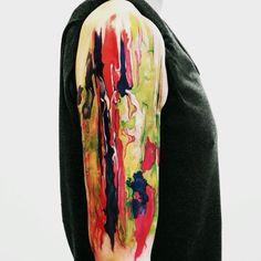 watercolor tatoo