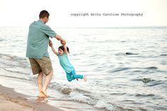 Dad and daughter shot