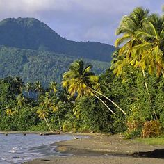 Dominica (the nature island)...one of my other favorite places on earth