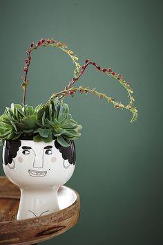 Esmeralda Flower Me Happy pot by Meyer Lavigne