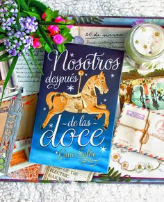 Once Upon a Book: Reseña | Nosotros Después de las Doce - Laia Soler... Books, Note Cards, Libros, Book, Book Illustrations, Libri