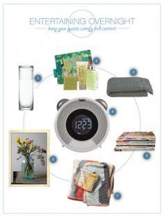 Holiday Entertaining: Overnight Guest essentials #holiday