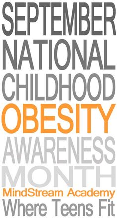 September is National Childhood Obesity Awareness Month Please Repin