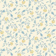 - Melodies Andover Fabrics by Designer Jo Morton Yardage - Craft Town Fabrics Fabric Design, Print Design, Decoupage, Andover Fabrics, Block Of The Month, Fabulous Fabrics, Sewing Notions, Haberdashery, Floral Fabric