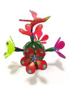 Hummingbird & Cactus   Chiapas Bazaar  Fairtrade Mexican Artisanal Collection