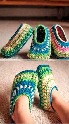 Make a pair of cozy slippers. slipper crochet patterns - crochet pattern pdf - h. Baby Crochet , Make a pair of cozy slippers. slipper crochet patterns - crochet pattern pdf - h. Crochet For Kids, Free Crochet, Knit Crochet, Crotchet, Ravelry Crochet, Crochet Beanie, Crochet Ideas, Crochet Projects, Headband Crochet