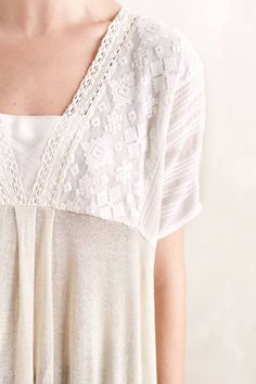 Niamh Top by Andree DeLair #anthrofave #anthropologie