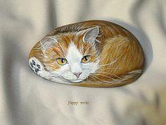 www.galets-peints.fr (rockpainting  yvette) Tags: art pierre peinture acrylique rockpainting happyrocks sassidipinti galetspeints
