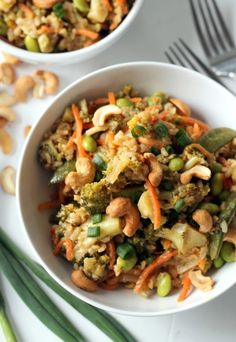 Easy Teriyaki Vegetable Stir Fry (Vegan + Gluten-Free)