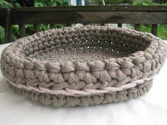 elegante Schale aus Textilgarn
