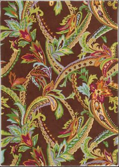 Vivaldi Baroque Rug. gorgeous color in large scale paisley pattern. 100% wool, tufted. GoodWeave certified. DesignNashville
