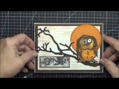 ▶ Bird Crazy - Stampers Annonymous, Tim Holtz CMS212 - YouTube