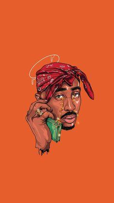 2pac Wallpaper, Supreme Iphone Wallpaper, Rapper Wallpaper Iphone, Hype Wallpaper, Pop Art Wallpaper, Tupac Photos, Tupac Pictures, Arte Do Hip Hop, Hip Hop Art