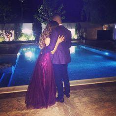 #mybaby #iloveyou #purple #pool #wedding #party #night #myking