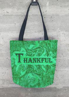 Tote Bag - Thankful Tote by VIDA VIDA YwsJG8SS