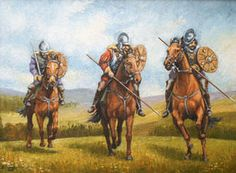 Mounted Reivers by William Ewart