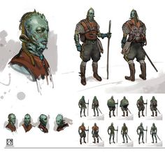 Accog concept by CarlosNCT on DeviantArt Alien 2, Alien Races, Alien Concept, Concept Art, Character Concept, Character Design, Alien Life Forms, Fantasy Races, Fantasy Setting
