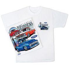 Muscle Car Apparel and Gifts - Ford Trucks T Shirt - 50 and 60, $16.95 (http://www.musclecarapparel.com/ford-trucks-t-shirt-50-and-60.html/)