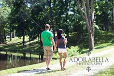 Illinois Engagement Photographer  Adorabella Photography  Fishing Fun!