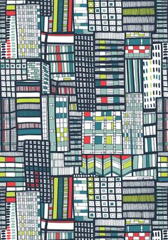 Wonderful pattern by Jessica Hogarth
