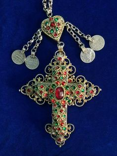 Albanian catholic cross from Mirdita