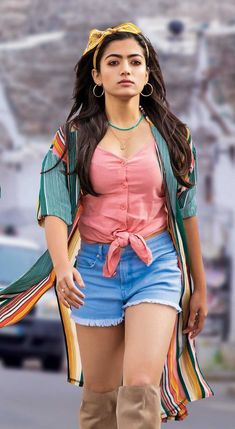 Rashmika in shorts Boy Photography Poses, Actor Photo, Beautiful Girl Indian, South Actress, Cute Beauty, Beauty Queens, Indian Beauty, Wonder Woman, Actresses