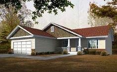 Craftsman   House Plan 63513