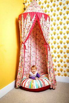 Hermosa tienda de campaña para los niños - Decoracion - EstiloPeques