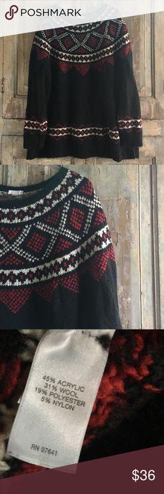 J.Jill ski sweater EUC--super soft and cozy! Fits very true to size J. Jill Sweaters Crew & Scoop Necks