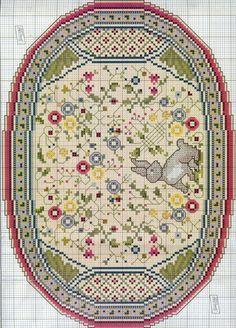 Gallery.ru / Фото #1 - 526 - Yra3raza Mini Cross Stitch, Cross Stitch Charts, Cross Stitch Designs, Cross Stitch Patterns, Dollhouse Miniature Tutorials, Miniature Crafts, Crazy Quilting, Needlepoint Stitches, Needlework