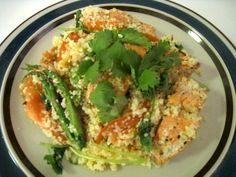Dinner with Jamie: Salmon with Couscous - Break the Sky