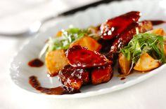 ブリの赤ワイン照り煮のレシピ・作り方 - 簡単プロの料理レシピ | E・レシピ