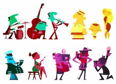 robin davey illustration - Google Search