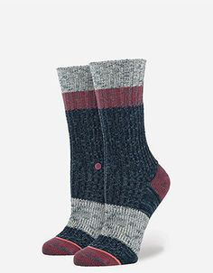 STANCE Bear Womens Socks Blue
