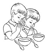 Child Praying Coloring Page Sketch Coloring Page