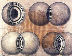 Walter Russell. Vesica Piscis in 3 Dimensions and the Light Lenses and Pressure Zones of Creation. 1959.