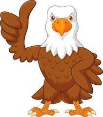 Cute eagle cartoon posing on white background Royalty Free Stock Images Free Cartoon Images, Cartoon Faces, Baby Cartoon, Cute Cartoon, Cartoon Characters, Disney Drawings, Cartoon Drawings, Animal Drawings, Cartoon Art