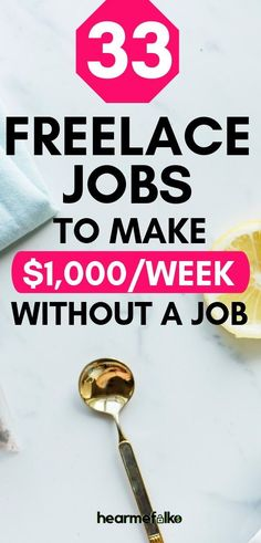 Freelancing jobs to work from home and make extra cash in your spare time. These awesome work from h Work From Home Companies, Work From Home Jobs, Make Money From Home, Way To Make Money, Money Fast, Make Money Online, How To Make, Legitimate Work From Home, Making Extra Cash