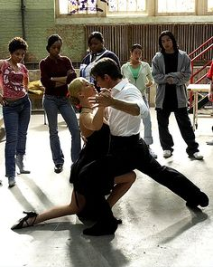 "Katya Virshilas and Antonio Banderas tango in ""Take the Lead"" (Tango Sinnlich)"