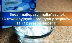 Soda - najlepszy i najtańszy lek - 13 rewelacyjnych przepisów Wodorowęglan sodu (soda oczyszczona) jest czymś, co każdy z nas ma w domu. Ale czy wiesz, ż