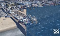 What sea level rise will do to famous American sites, visualized Sea Level Rise, Environmental News, Evil People, Global Warming, World History, The Guardian, New Image, New York Skyline, Climate Change