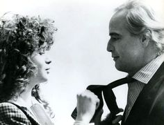 "Marlon Brando while filming ""Last Tango In Paris"" with Maria Scheinder c.1972"