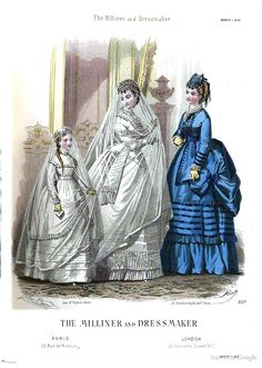 March 1870, The Milliner and Dressmaker