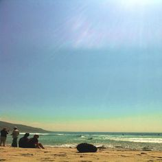 Malibu - missing life on the beach.