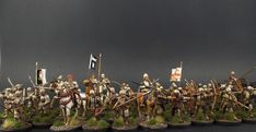 28mm Perry Miniatures. The Retinue of Richard Tunstall of Thurland (Lancastrian) Destined for Lion Rampant ~ Costed Client Commission