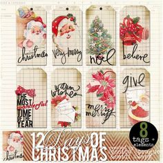 digi-scrap Christmas packet by Heidi Swapp