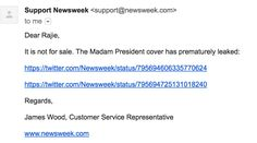 Everyone: RelaxThere Were Two Newsweek Covers Printed