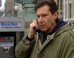 "Harrison Ford, Maine East High School graduate of 1960 as ""The Fugitive""—shot in Chicago Harrison Ford Young, Harrison Ford Movies, 90s Movies, Movie Tv, Chicago Entertainment, East High School, Tommy Lee Jones, Robert Johnson, Chicago Travel"
