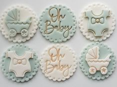 Baby Cupcake, Baby Shower Cupcakes, First Girl, New Baby Products, Instagram, Cupcake Baby Showers